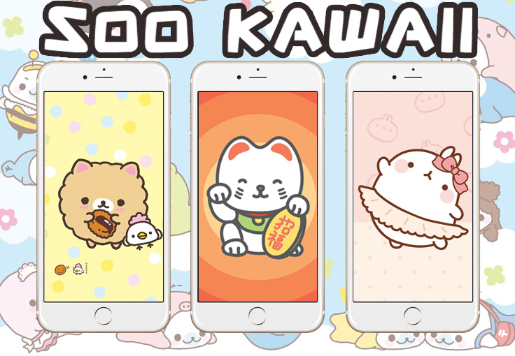 28 Soo Kawaii Wallpapers for iPhone & Android ★ Check them out at www.preppywallpapers.com or @prettywallpaper