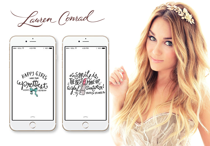 Lauren Conrad iPhone wallpapers