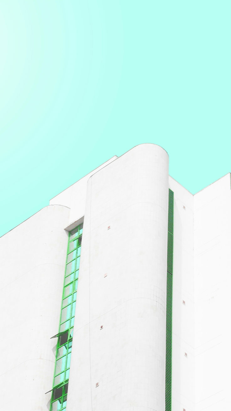 White building by Instagrammer http://www.instagram.com/somewhereinabuja ★ Download more Candy Minimalism Inspired iPhone Wallpapers at @blossomcases