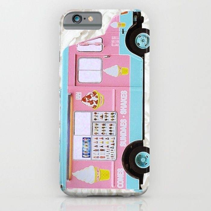 Celebrate Summer with these Super Cute Ice Cream Cone and Popsicle iPhone Cases | Read more on our blog www.preppywallpapers.com or follow us on Pinterest @prettywallpaper