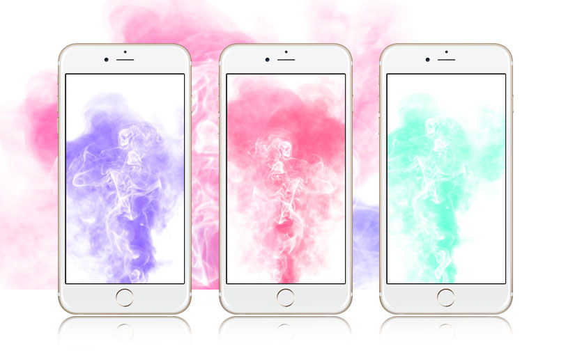 5 Smoking Hot Abstract iPhone Wallpapers