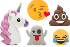 6 super cute Emoji power banks to charge your phone