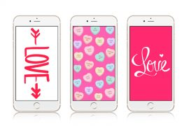 12 Super Cute Valentine's Day iPhone Wallpapers