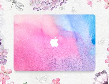 Watercolor MacBook skin