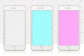 10 Colorful Polka Dot iPhone Wallpapers