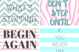 5 Cute Motivational iPhone Wallpapers To Keep You Motivated!