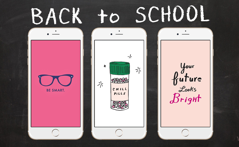 Back To School With 28+ Super Cute IPhone Wallpapers