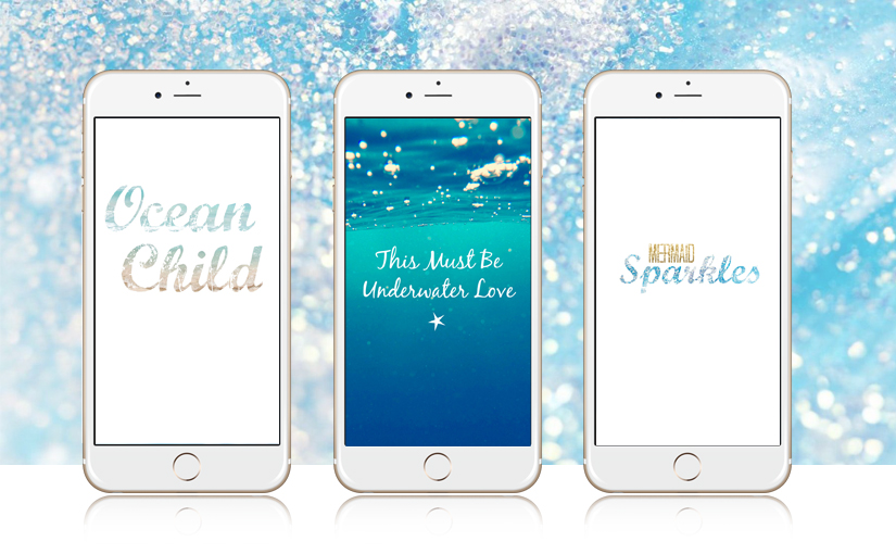 5 Adorable iPhone Wallpapers every Mermaid needs!