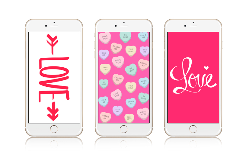 12 Super Cute Valentine S Day Iphone Wallpapers Preppy