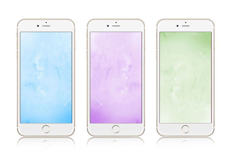12 Adorable Watercolor iPhone 7 Plus Wallpapers