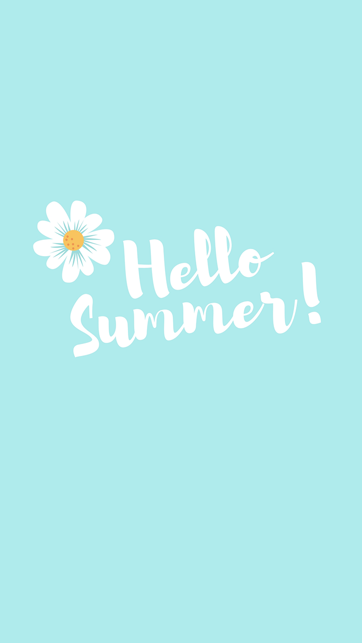 Hello Summer Quote IPhone Wallpaper Tap To Download For Free