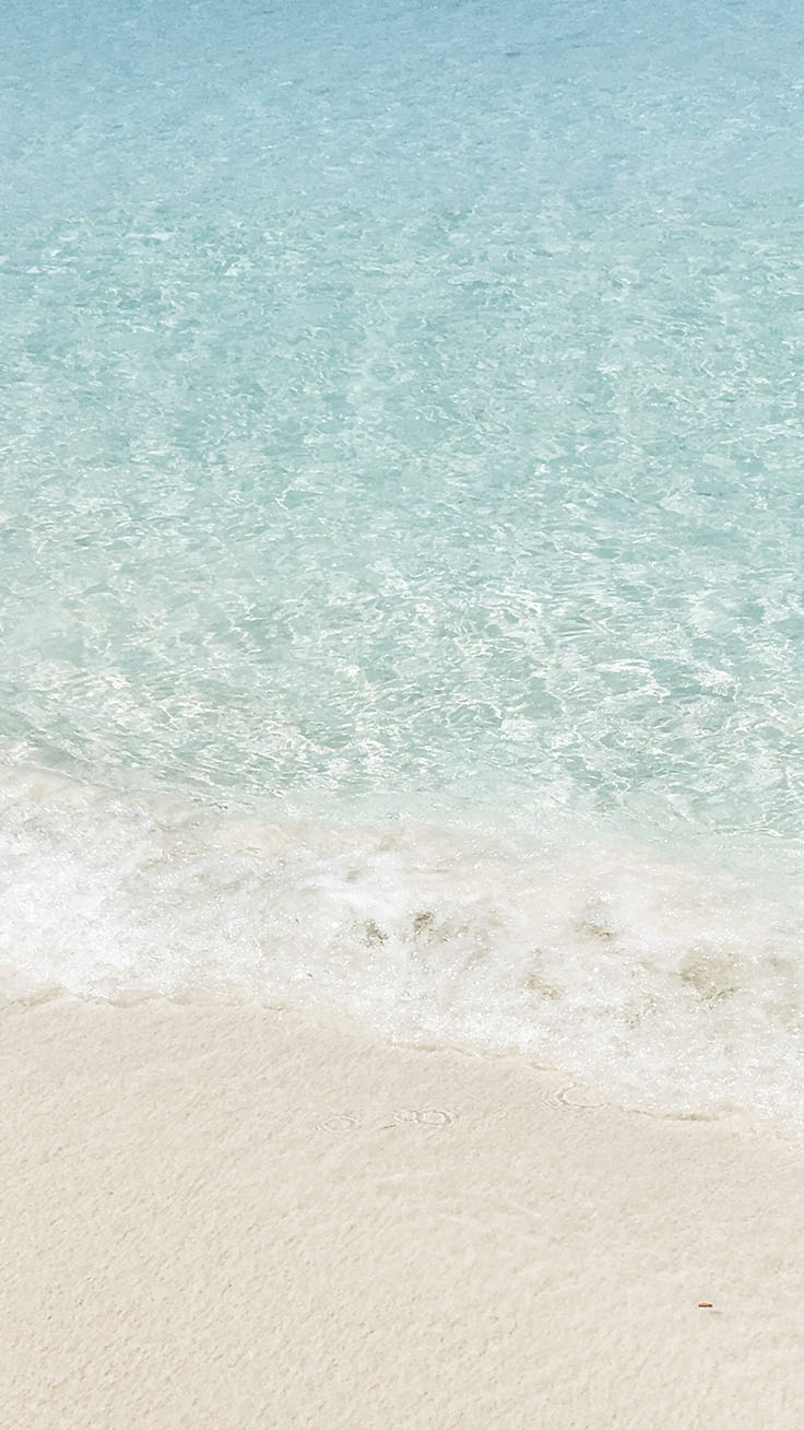 Pale Pastels iPhone Wallpaper Collection for Beach Lovers by www.preppywallpapers.com