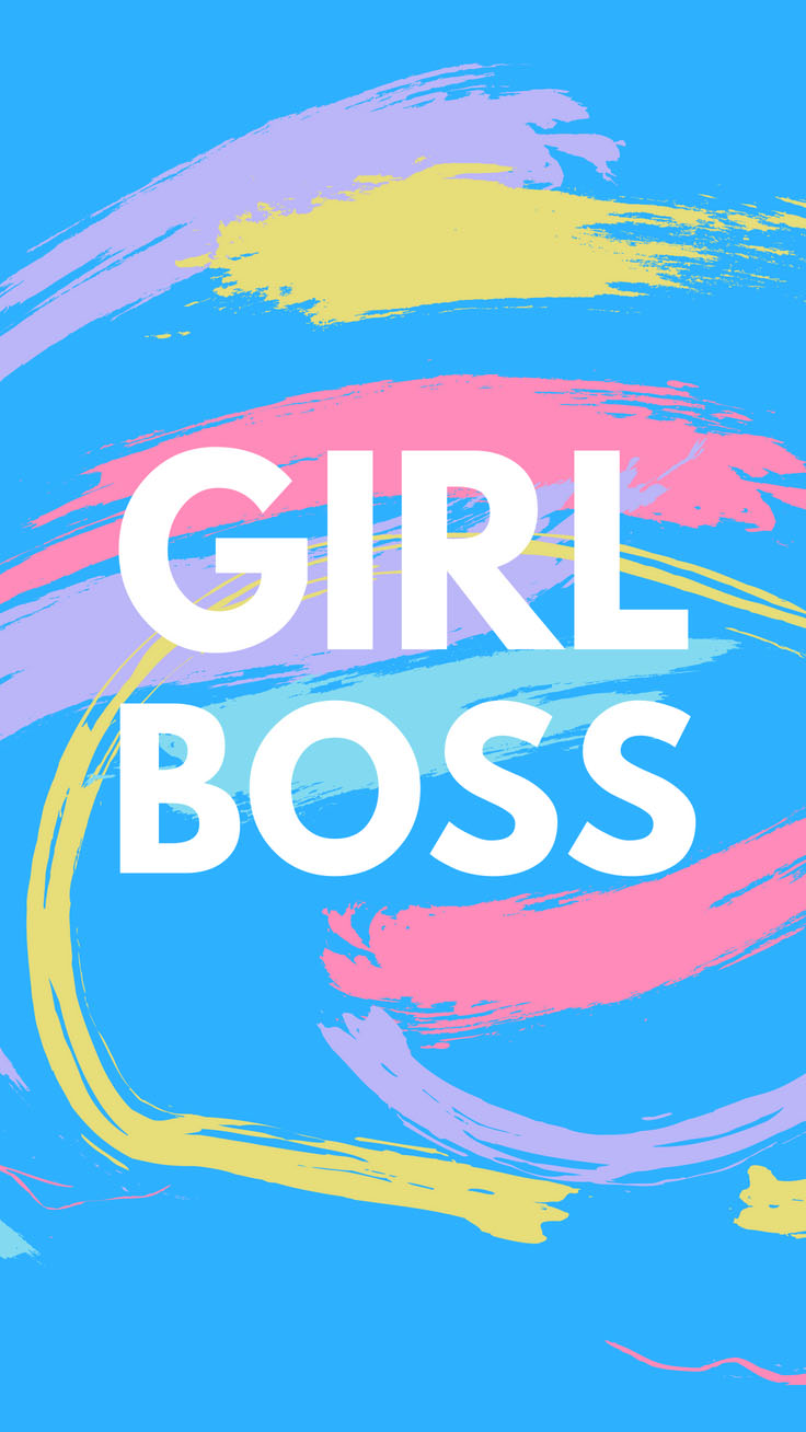 Girl Boss | Girl Boss iPhone Wallpapers by PreppyWallpapers