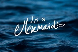 I'm a Mermaid iPhone Wallpaper by Preppy Wallpapers