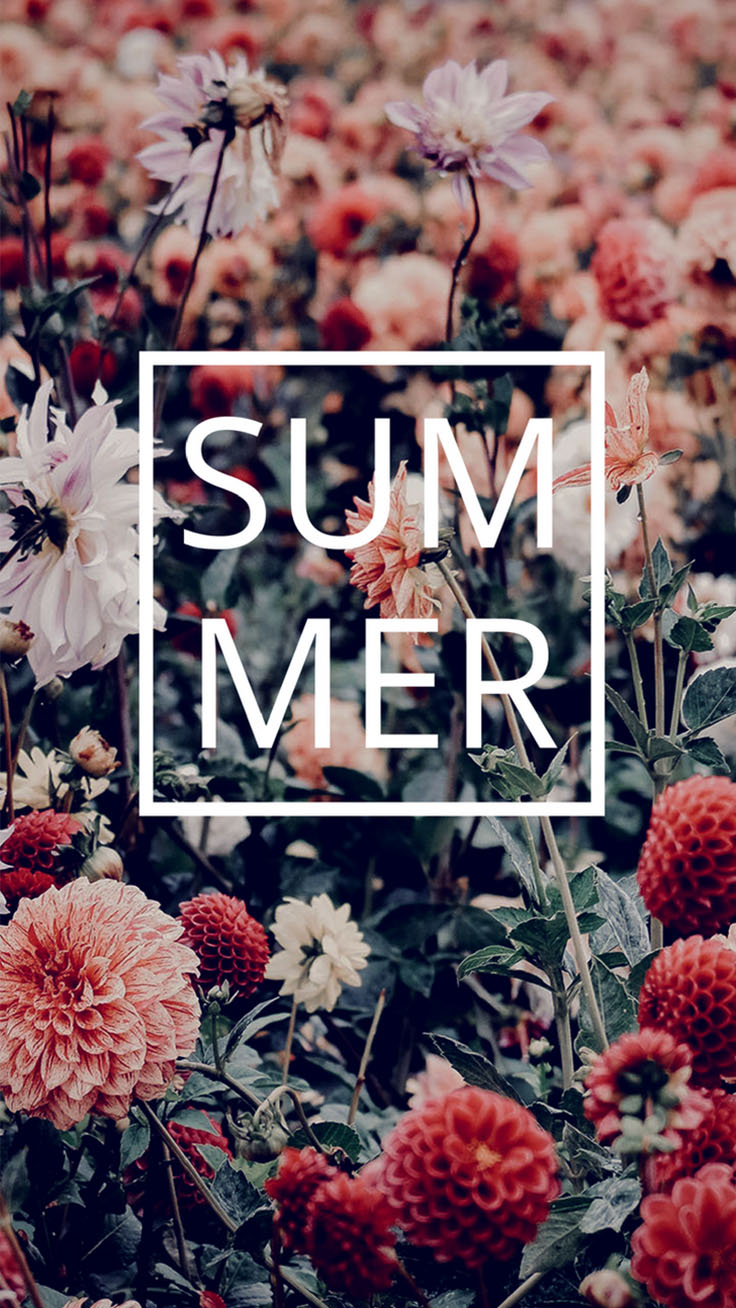 8 Floral Iphone Wallpapers To Enjoy That Summer Feeling Preppy