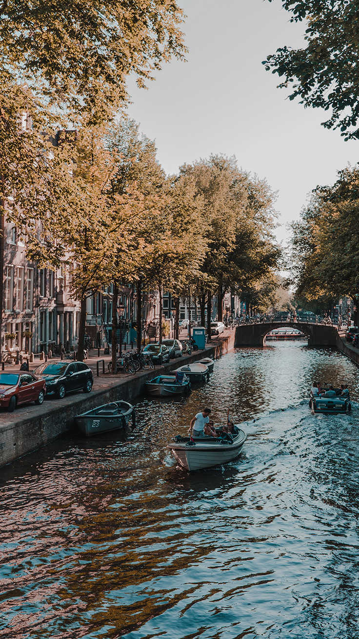 Amsterdam iPhone Wallpaper Collection by Preppy Wallpapers