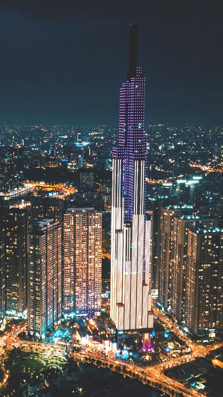 Cities By Night IPhone Wallpaper Collection