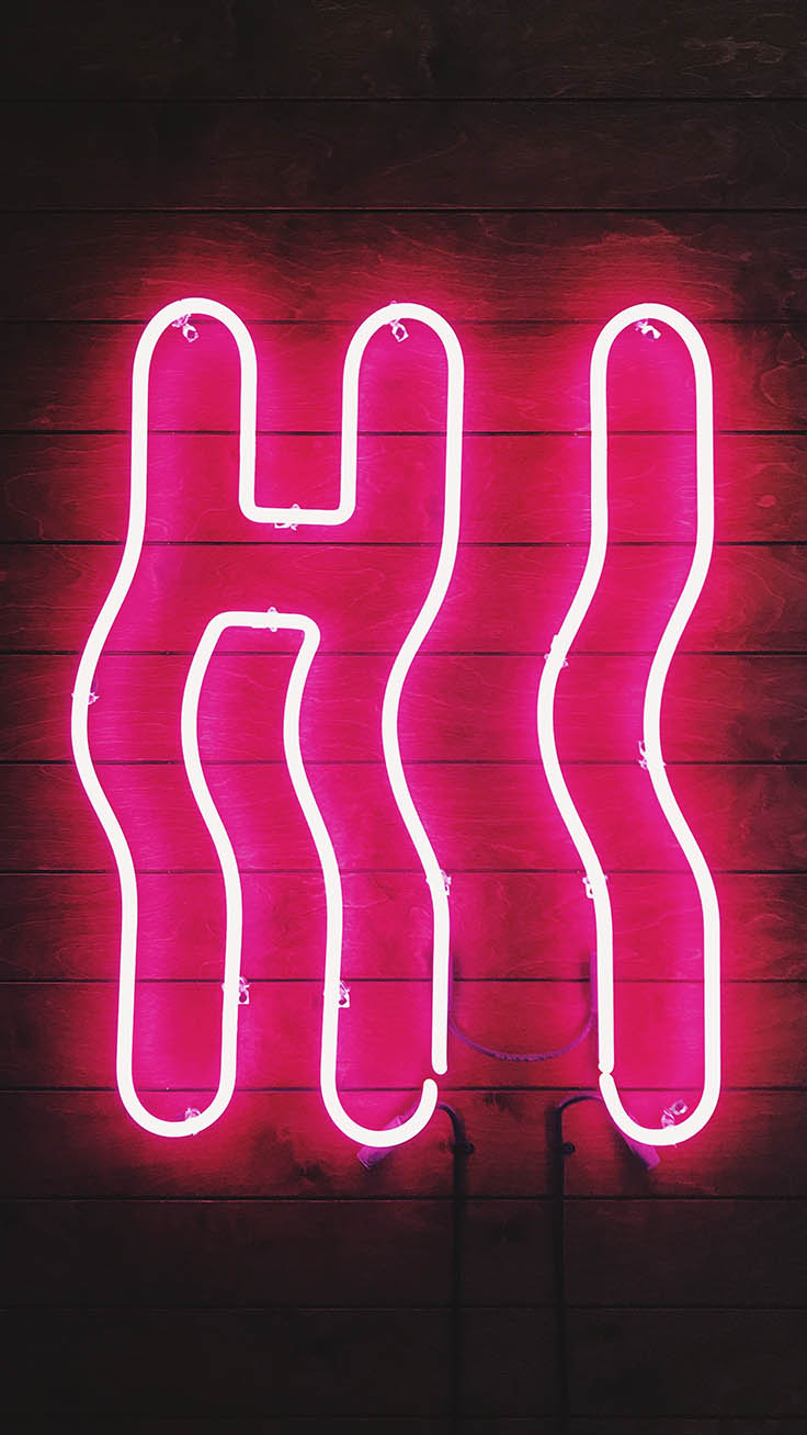 Neon iPhone Wallpapers by Preppy Wallpapers