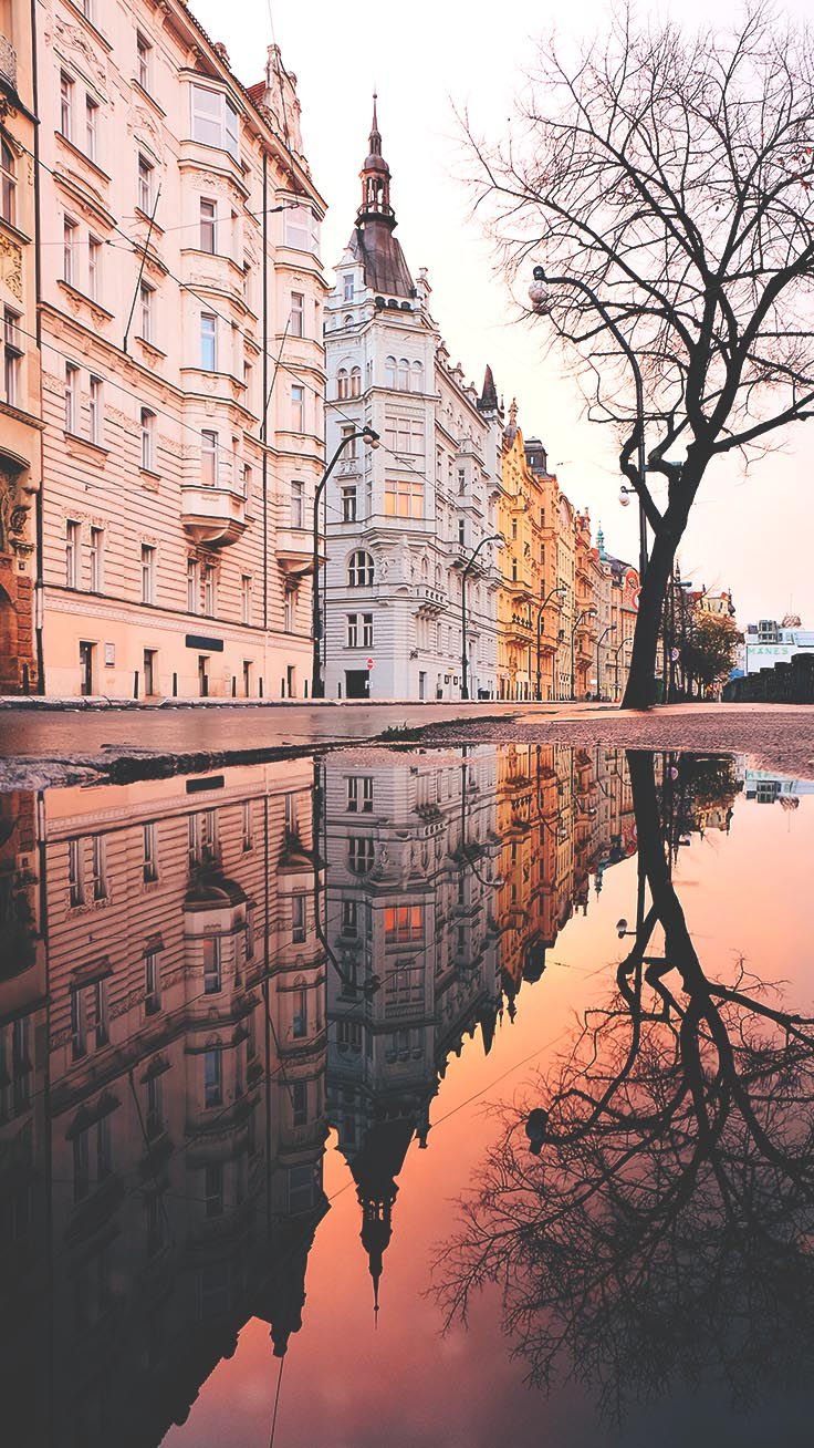 Reflection iPhone Wallpaper by Preppy Wallpapers