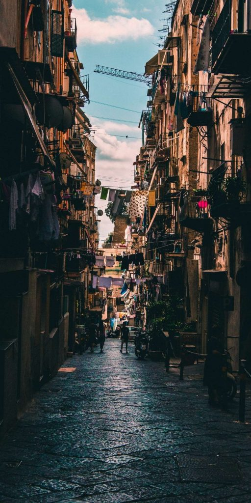 Naples is s super densely populated city and one of the oldest continuously inhabited urban areas in the world.