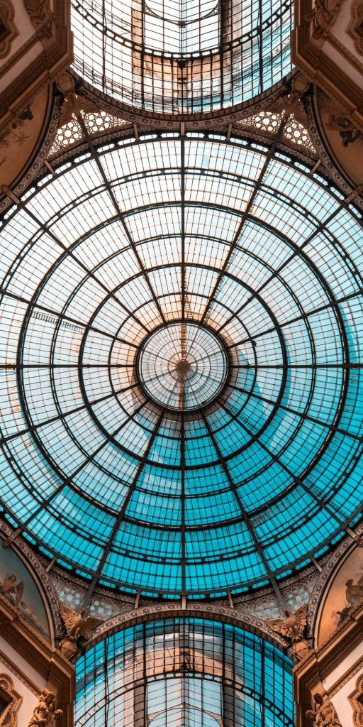 The Galleria Vittorio Emanuele II is Italy's oldest shopping mall and a major landmark of fashion city Milan.