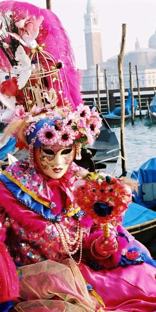 Every February, The Carnival of Venice is held in the city. It lasts for around two weeks and ends on Shrove Tuesday.