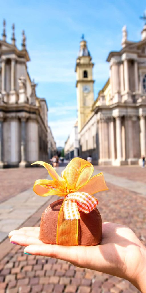 Turin is heaven for chocolate lovers and famous for its delicious handmade creations. There is even an annual Chocolate Festival!