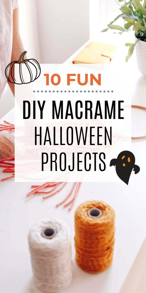 DIY Macrame Halloween Decorations Project Home Decor