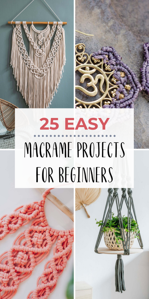 Did you know it's super easy to learn how to macrame? It only takes a few basic knots to create your very first macrame project. Here's how to get started!